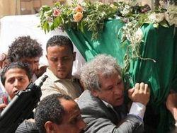похороны сына Каддафи