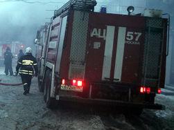 В Москве на Преображенском рынке потушен пожар