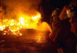 В Латвии пожар унес жизнь маленького ребенка