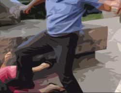 Полицейских, избивших детей под Кемерово, взяли под стражу
