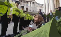 Полиция задержала 11 «оккупантов Лондона»