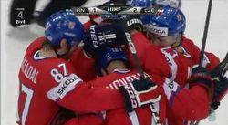После 1 периода Чехия выигрывает у Финляндии со счетом 3-1