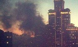 При пожаре в элитной высотке в Москве погибла женщина. ТОП столичных пожаров