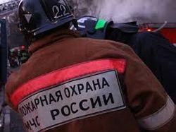 МЧС: пожар в Москве здания ГИТИСа