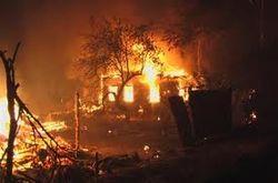 пожары в Чечне
