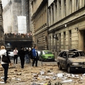 На месте взрыва в Праге