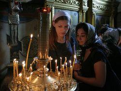 Православных в России, признающих РПЦ, – меньше половины населения