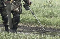 При зачистке площадки подрыва на военном полигоне ранены 3 солдата