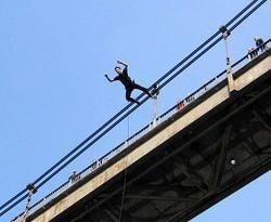 прыжок с виадука