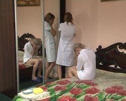 """МВД Украины: харьковские проститутки """"прикрывались"""" белыми халатами"""