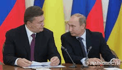 Янукович часто общается с Путиным