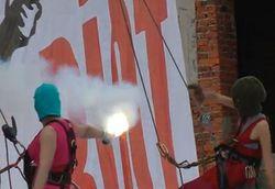 Pussy Riot не дают о себе забыть, засветившись на MTV VMA