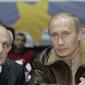 В. Путин со своим первым тренером по дзюдо