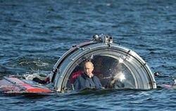 PR и политика: Владимир Путин совершил погружение в Финский залив