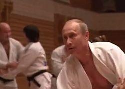 Путину подняли дан