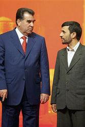 Рахмон и Ахмадинежад