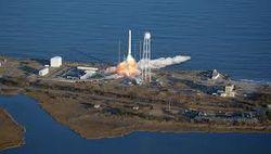 Ракета «Антарес» для частного космогрузовика прошла огневые испытания