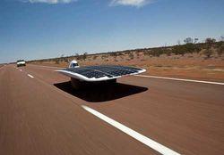 В чилийской пустыне стартовало ралли авто на солнечных батареях