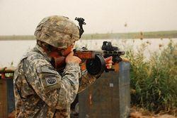 расстрел солдат