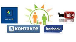 """Рейтинг """"Биржевого лидера"""" популярности социальных сетей в Интернете"""