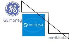 ТОП «Биржевого лидера» банков Латвии: GE Money Bank популярнее Rietumu Banka