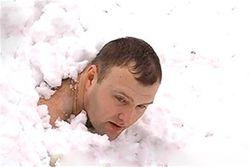 Как побить рекорд украинца по пребыванию в снегу. Мнения ВКонтакте