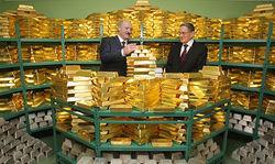 Белорусский золотовалютный резерв незначительно вырос в 2012 году