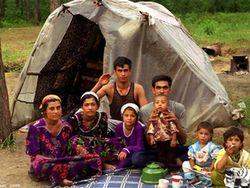 Цыганский табор в Киеве