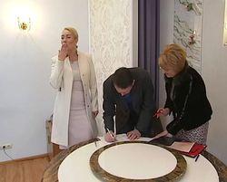 Мельниченко и Розинская расписались – скромно, но со вкусом