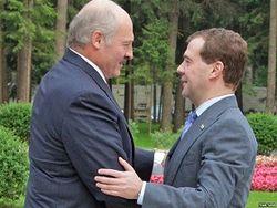 Медведев и Лукашенко