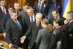 Украина: большинство ВР жалуется на условия, оппозиция зовет людей на улицу