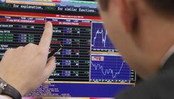 В понедельник рынок российских акций держался на плюсовой стороне