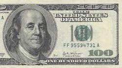 Новая 100-долларовая банкнота поступит в обращение с 8 октября