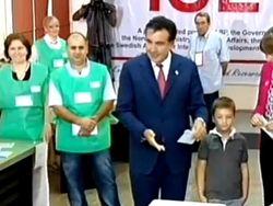 Саакашвили принял поражение, его партия уходит в оппозицию