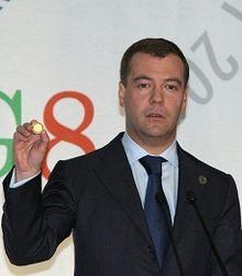 Медведев на саммите G8