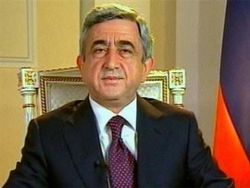 Exit-poll: Серж Саргсян побеждает на выборах в Армении с 58%