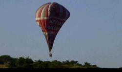 Опасные развлечения на воздушном шаре