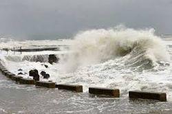 Последний шторм повредил береговую защиту объектов Сочи-2014