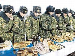 В армии России теперь будут накрывать шведский стол. Опыт Запада