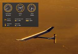 Швейцарцы снова запустили в полет самолет на энергии солнца