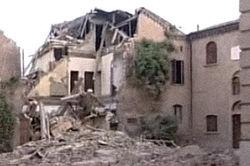 Сильное землетрясение на севере Италии привело жертвам