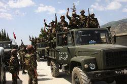 Армия Ирака воюет против отрядов сирийской оппозиции