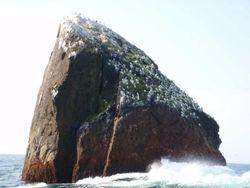 Искатель приключений планирует два месяца жить на скале в Атлантике