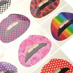 Инвесторам: Тату-наклейки для губ завоевывают популярность