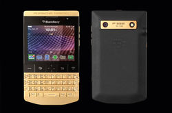 Porsche и BlackBerry презентуют золотой смартфон P'9981