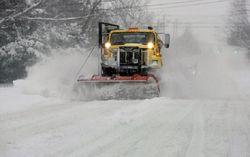 Киев встал в пробках из-за снега. Самые серьезные инциденты из-за погоды