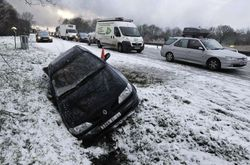 Снегопад в Финляндии «организовал» ДТП с 200 машинами