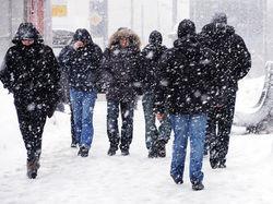 Европу парализовали аномальные для марта снегопады
