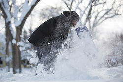 МЧС предупредило украинцев об угрозе сильного снегопада в Киеве
