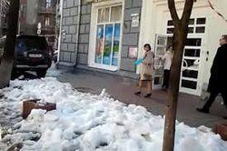 """МВД Украины нашло виновника """"атаки снежками"""" на женщин. Он извиняться не будет"""